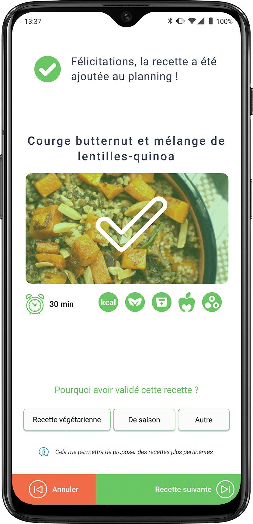 Une Unique Application Pour Planifier Vos Repas Et Faire Les